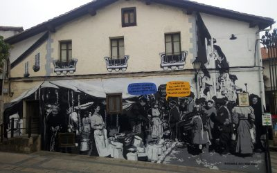 Jokaera  berriak  transmititzeko  mural  XL  bat  Agurainen