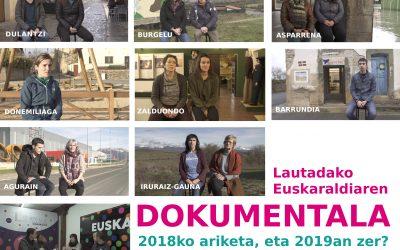 Lautadan  2018ko  Euskaraldia  dokumentalaren  proiekzioak